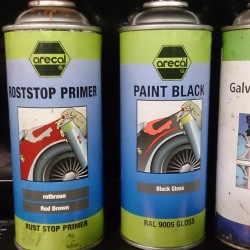 4 Primer Paints and galv