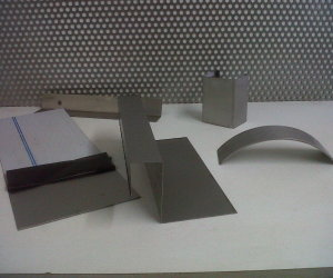 sheet metal work undertaken (2)